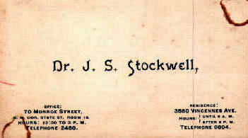 Stockwell business card