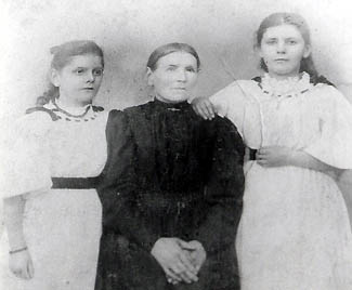 mother and sisters
